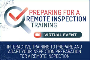 Preparing for a Remote Inspection Training